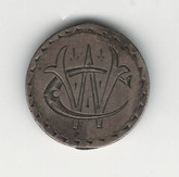 "Love Token: ""CW"" On US 1892, 10 Cent Host Coin"