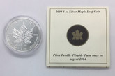 Canada: 2004 $5 1 oz Desjardins Privy Silver Maple