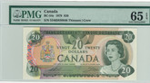 Canada: 1979 $20 Bank Of Canada Banknote PMG MS65