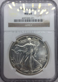 United States: 1989 American Silver Eagle NGC MS69