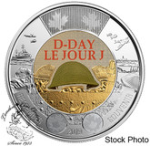 Canada: 2019 $2 75th Anniversary of D-Day Coloured BU