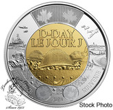 Canada: 2019 $2 75th Anniversary of D-Day Non-Coloured BU