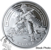Canada: 2019 $20 Second World War: Battlefront Series: The Normandy Campaign 1 oz. Pure Silver Coin