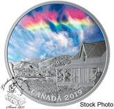 Canada: 2019 $20 Sky Wonders: Fire Rainbow 1oz Pure Silver Coin
