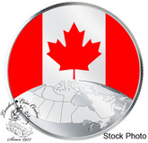 Canada: 2019 $5 This is Canada! Pure Silver Glow-in-the-Dark Coin