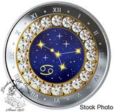 Canada: 2019 $5 Zodiac Series: Cancer Pure Silver Coin