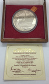 Singapore: 1975 $10 10th Anniversary of Independence Silver Coin