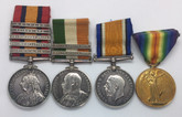 A South Africa & First War Group To Sergeant Watson; 4th Hussars & Hampshire Regiment