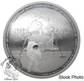 Canada: 2019 $25 50th Anniversary of the Apollo 11 Moon Landing Fine Silver Coin