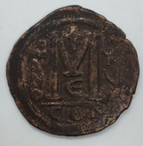 Byzantine: Justinian I the Great AD 527-565. AE follis or 40 nummi Lot#3