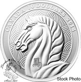 Canada: 2014 $10 The Year of the Horse Silver Coin