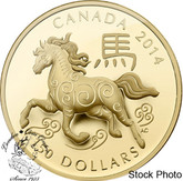 Canada: 2014 $150 The Year of the Horse Gold Coin