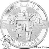 Canada: 2013 $10 Hockey O Canada Series 1/2 oz Pure Silver Coin