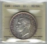 Canada: 1949 Dollar ICCS MS64 #2
