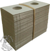 100 x 1 Cent / 10 Cent size Cardboard 2x2 Flips (Holders)