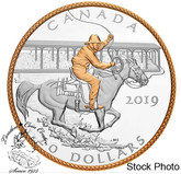 Canada: 2019 $20 Victory Stampede 1 oz Pure Silver Coin