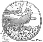 Canada: 2019 $20 Forget-Me-Not 1 oz Pure Silver Coin