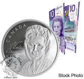 Canada: 2019 $20 Viola Desmond Pure Silver Coin and $10 Banknote Set