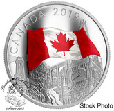 Canada: 2019 $30 The Fabric of Canada 2 oz. Pure Silver Coin