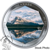 Canada: 2019 $30 Peter McKinnon Photo Series: Mount Rundle Pure Silver Coloured Coin