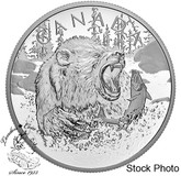 Canada: 2019 $125 Primal Predators: The Grizzly 1/2 Kilogram Pure Silver Coin