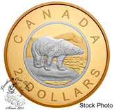 Canada: 2019 Big Coin Series: 2 Dollars 5 oz. Pure Silver Reverse-Gold Plating Coin
