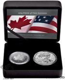 Canada: 2019 Pride of Two Nations Limited Edition Two-Coin Set