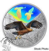 Canada: 2019 $30 Majestic Birds in Motion: Golden Eagles Fine Silver Coin