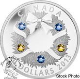 Canada: 2013 $20 Holiday Wreath 1 oz Silver Coin