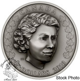Canada: 2018 $25 Her Majesty Queen Elizabeth II: The New Queen 1 oz. Pure Silver Coin
