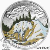 Canada: 2016 $20 Landscape Illusion - Mountain Goat Silver Coin in 5 Coin Collector Box