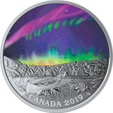"Canada: 2019 $20 Sky Wonders: ""Steve"" 1 oz. Pure Silver Coin"