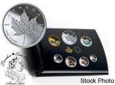 Canada: 2019 Canadian Circulation Collection Pure Silver Coloured 6-Coin Set
