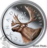 Canada: 2019 25 Cents Coloured Pure Silver Coin