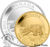 Canada: 2013 Polar Bear Gold & Silver Proof Coin Set
