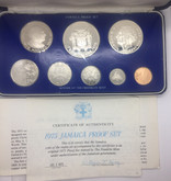 Jamaica: 1975 Proof Coin Set (8 Coins)