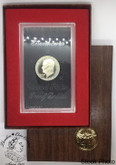 United States: 1973 Eisenhower Proof Silver Dollar Coin