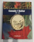 Canada 1 Dollar Vista Coin Album 1968 to Date (Colourful)