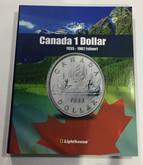 Canada 1 Dollar Vista Coin Album 1935 to 1967 (Silver) (Colourful)