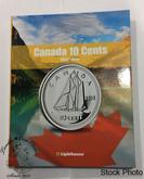 Canada 10 Cent Vista Coin Album 1953 - Date (Colourful)