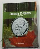 Canada 25 Cent Vista Coin Album 1953 -1999 (Colourful)