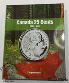 Canada 25 Cent Vista Coin Album 2000 - Date (Colourful)