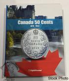 Canada 50 Cent Vista Coin Album 1870 - 1952 (Colourful)