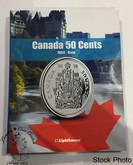 Canada 50 Cent Vista Coin Album 1953 - Date (Colourful)