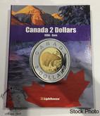 Canada 2 Dollar Vista Coin Album 1996 - Date (Colourful)