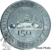 Canada: 2017 $5 150th Anniversary Voyageur Pure Silver Coin