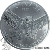 Canada: 2015 $5 Great Horned Owl Pure Silver Coin