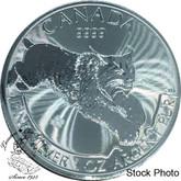 Canada: 2017 $5 Silver Lynx Pure Silver Coin