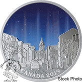 Canada: 2019 $20 Sky Wonders: Light Pillars 1 oz. Pure Silver Coin