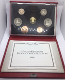 United Kingdom: 1988 Proof Coin Collection (7 Coins)